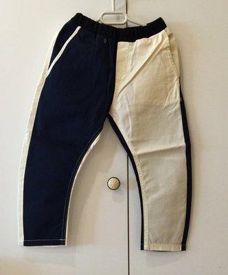 日本設計師童裝品牌 Arch & Line 男童雙色長褲(白色&深藍色)- 日本製 clearance sale
