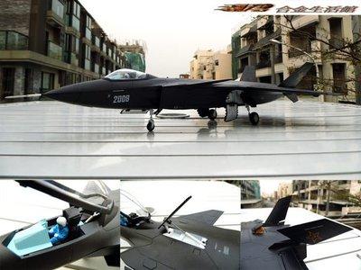 【1/48 精緻戰爭模型】中國 全新 神秘 匿蹤戰機 - 殲20 (J-20) ~全新品,預購特惠價!~