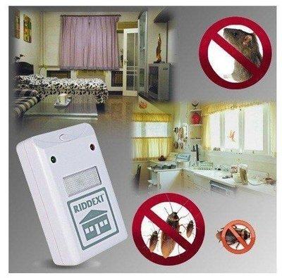 全新 美國 RIDDEX 電子驅鼠器 pest repelling aid 超音波 電磁波蚊蟲驅趕器