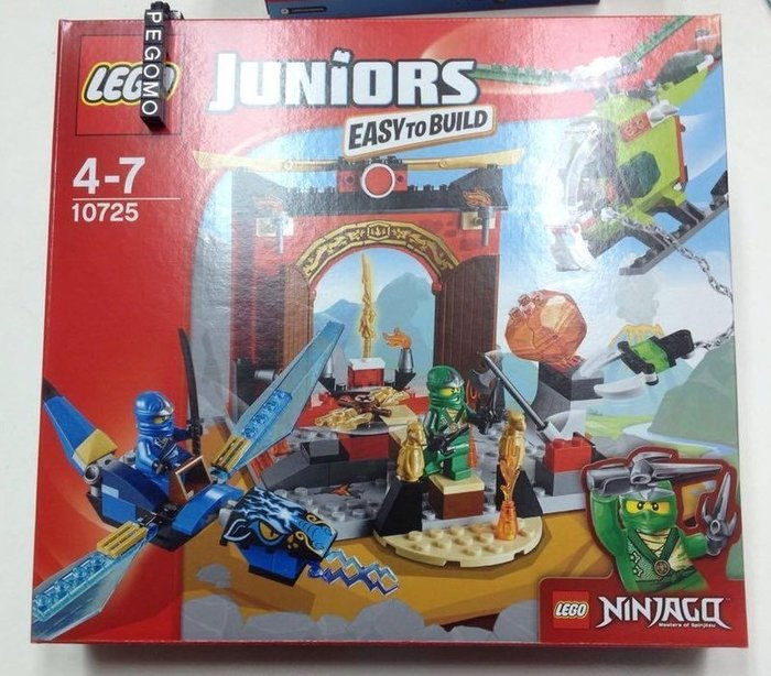 【痞哥毛】LEGO 樂高 Juniors 10725 Ninjago Lost Temple 旋風忍者失落的廟宇