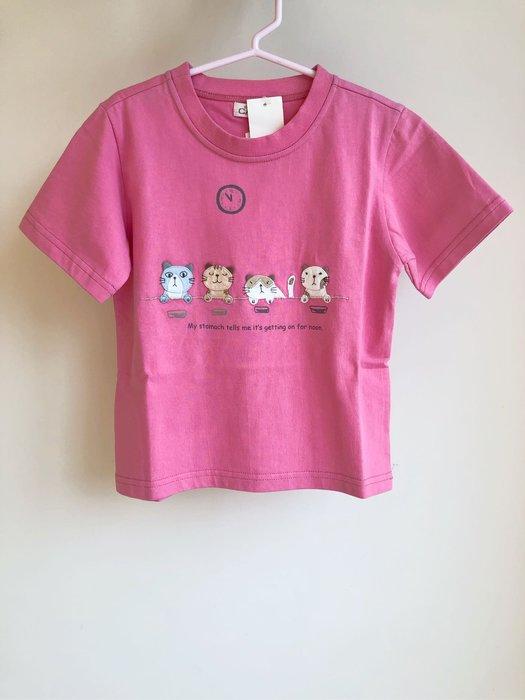 日本卡拉貓~吃飯時間兒童純棉上衣