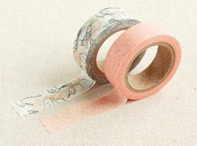 *YOOWOO*A【韓國空運 Decorate YOUR item 多功能裝飾 15mm 和紙膠帶 貼紙 ~ Murmur 呢喃】一組2入