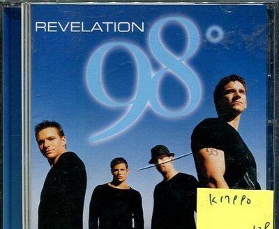 *真音樂* 98° / REVELATION 二手 K17990