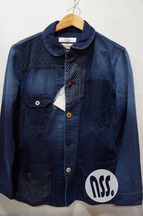 「NSS』FDMTL PATCHWORK COVERALL 3YR WASH 3