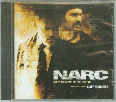 """[原聲帶]- """"緝毒特警(NARC)""""- Cliff Martinez,全新美版"""