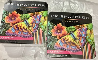 現貨新包裝132色+混色筆prismacolor頂級軟核油性 色鉛筆