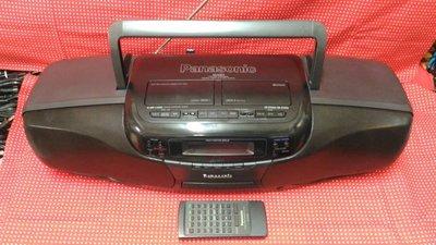 ~【白姫の部屋】~ Panasonic 國際牌 RX-DT701 大手提音響 收錄音機 單片CD 雙卡帶匣 附遙控器