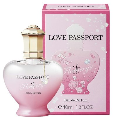 (現貨)Love Passport IT Flowery幸福花束淡香精 40ml