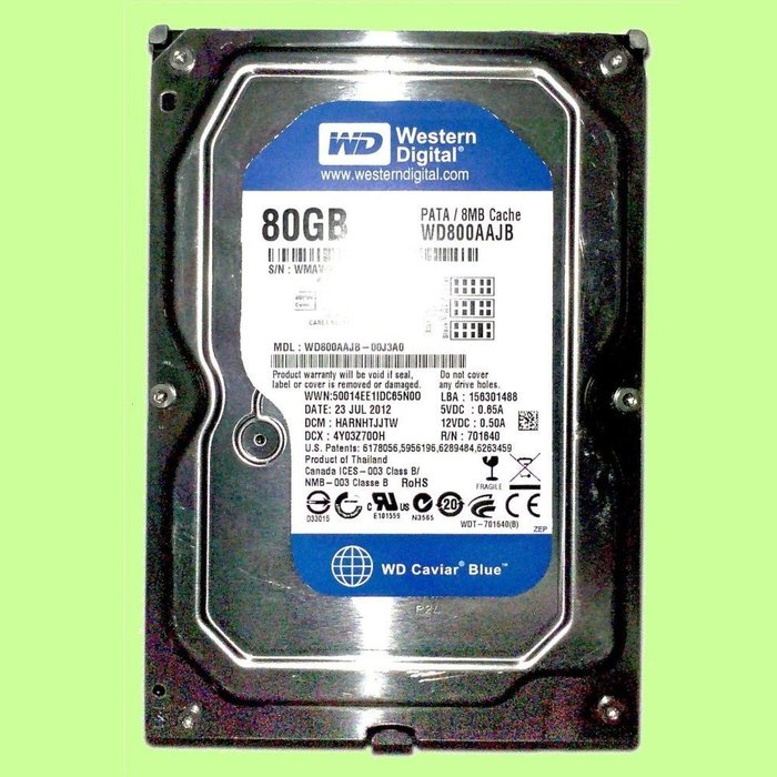 5Cgo【權宇】希捷Seagate 西數WD 80G IDE 7200轉 2MB拆機九成新硬碟得標為一個買五個免運 含稅