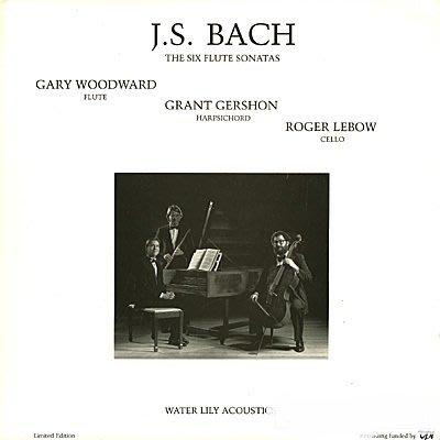 古典發燒名盤- Woodward, Gershon, Lebow - Bach: Six Flute Sonatas
