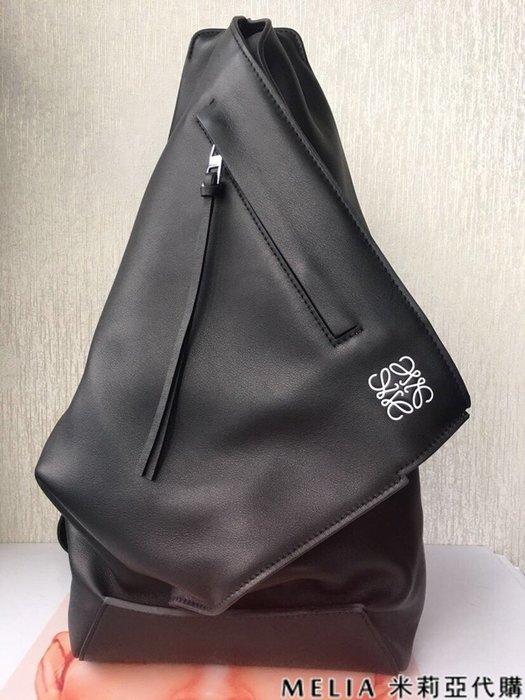Melia 米莉亞代購 商城特價 數量有限 每日更新 19ss LOEWE ANTON BAG 時尚單肩三角設計 黑色