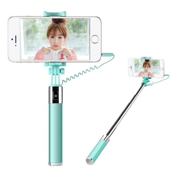 迷你手機自拍桿自照6蘋果iPhone7小米vivo華為oppo通用拍照自牌桿