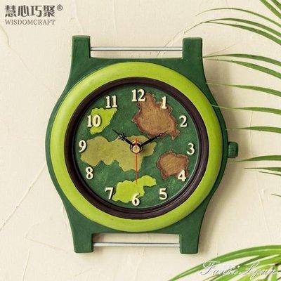 時鐘掛鐘時尚個性客廳鐘錶創意現代簡約臥室歐式兒童靜音家用時鐘 HM    全館免運