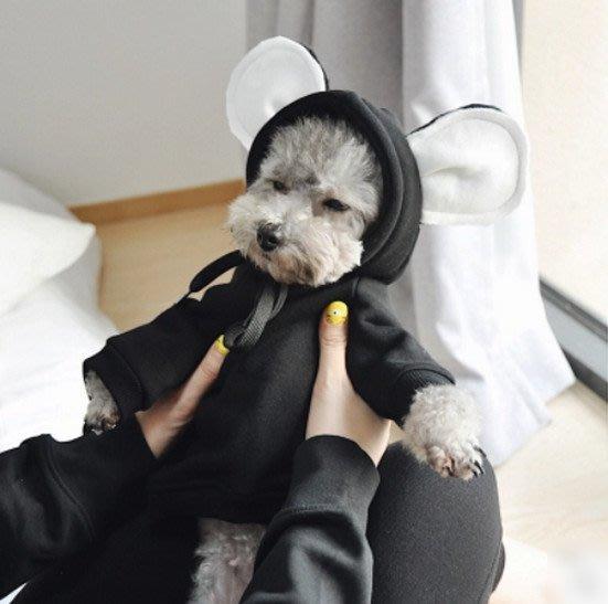 寵物衣服秋冬衣加絨加厚寵物變身裝雪納瑞小型犬兩腳衣貓_☆優夠好SoGood☆