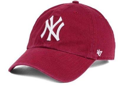 【YZY台灣】47 BRAND NEW YORK YANKEES 洋基 老帽 復古帽 老爺帽 MLB CARDINAL