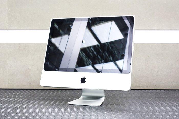 【台中青蘋果】iMac 20吋 Core 2 Duo 2G 320G 2009年初 二手 桌上型電腦 #27937