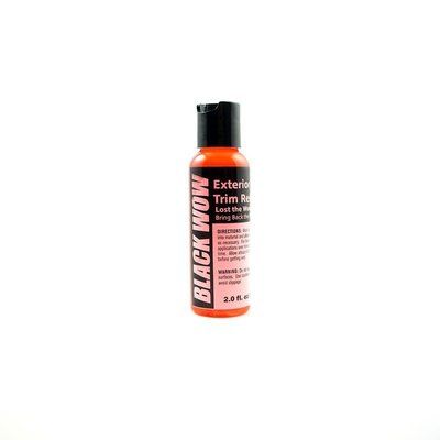 『好蠟』Black Wow Exterior Trim Restorer 2oz. (黑亮外部膠條保養劑) *約59ml
