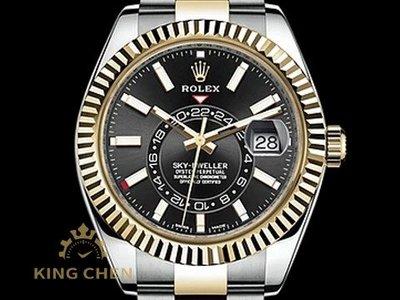 【金宸名錶】ROLEX 勞力士 Sky-Dweller 326933 蠔式 半金款 天行者 沙羅系統 年曆錶 AS177