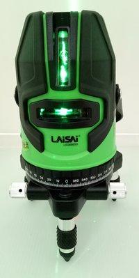 【宏盛測量儀器】雷射墨線儀/水平儀LAISAI LSG686SD綠光 公司貨 校正後出貨~附腳架(含稅)限Y拍.自取