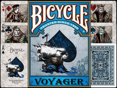 【USPCC撲克】Bicycle Voyager Playing Card 航海家單車撲克