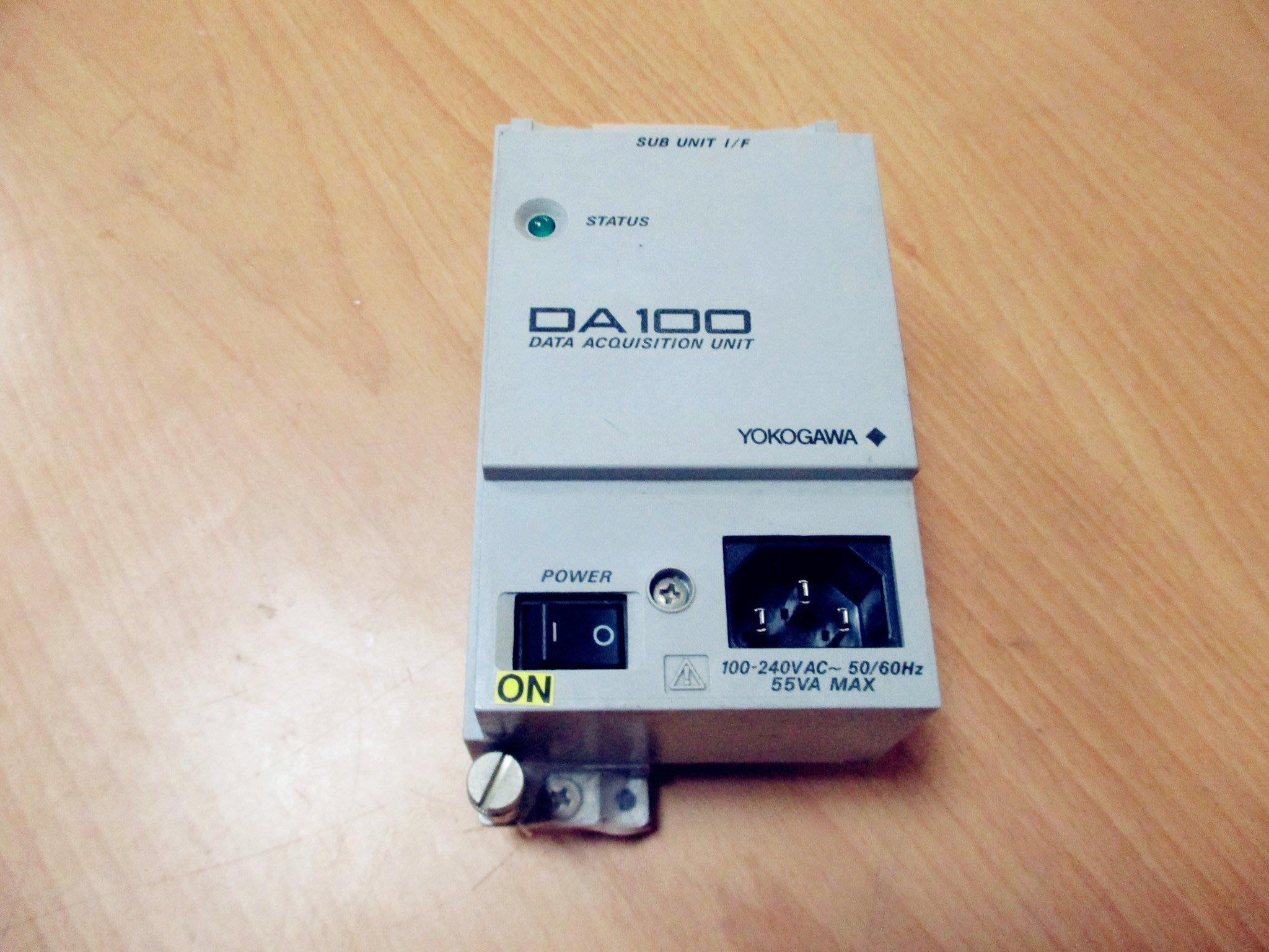 康榮科技二手儀器領導廠商Yokogawa DA100 Stand-alone model (DA100-B1-1M)