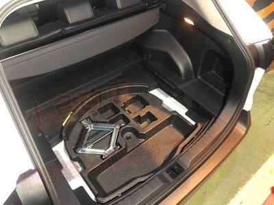 (小鳥的店)豐田 2019-2021 5代 五代 RAV4 後廂無備胎化 日本原廠件 置物盒