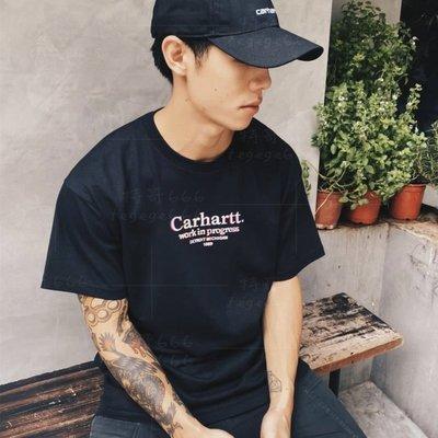 潮匯正韓代購 CARHARTT WIP 20秋 Commission T-Shirt幻影刺繡字母短袖T恤