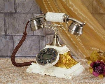 福利館◎【復古風仿電話x免運優惠中x贈USB燈】GBD-218B 立體油畫經典款電話