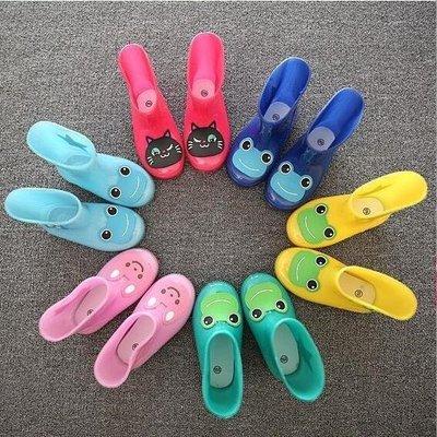 ZIHOPE 男女寶寶幼兒園兒童雨衣雨鞋雨靴ZI812