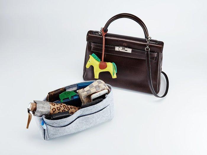 草原星星Hermes Kelly 28cm 毛氈系列 羊毛氈內袋 袋中袋 28cm