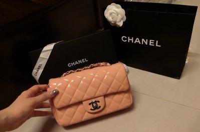 Chanel coco 20 保證真品 櫻花粉 側背包 mini 香奈兒包minicoco經典菱格側背包斜背洋裝黑荔枝 台中市