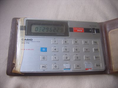 casio MG770 打鬼計算機