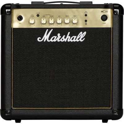 【立昇樂器】Marshall MG15G 15瓦電吉他音箱 【原 MG-15CF】