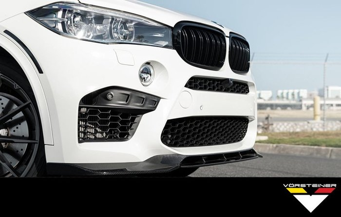 【樂駒】Vorsteiner BMW X5M F85 X6M F86 carbon 碳纖維 前下巴 尾翼 空力