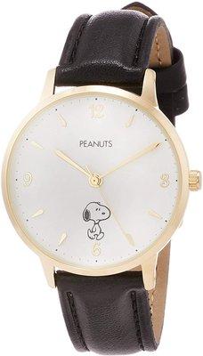 日本正版 Fieldwork PNT003-3 史努比 SNOOPY 女用 手錶 腕錶 女錶 皮革錶帶 日本代購