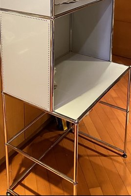 瑞士進口傢俬 1x5層 電腦枱 櫃子 鋼櫃 USM Haller Modular Designer Furniture 層架 自由組合書櫃