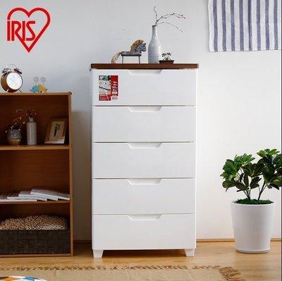 『格倫雅』愛麗思IRIS塑膠密閉抽屜式收納櫃整理儲物櫃五鬥櫃寶寶衣櫃愛麗絲^29820