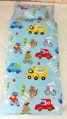 鴻宇兒童睡袋 防蹣抗菌-精梳棉/鋪棉兩用睡袋/旅行家-/美國棉授權品牌台灣製