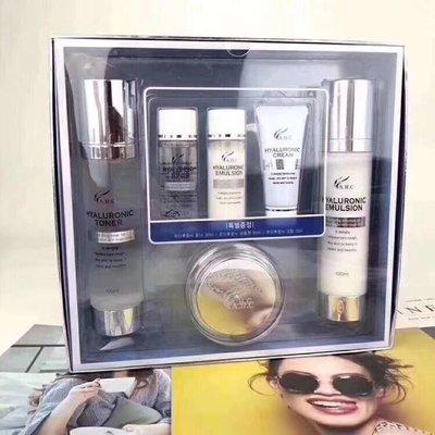 AHC 玻尿酸 神仙水 神仙乳 化妝水 面霜 乳液 旅行組 組合包 100ML 神仙水乳液六件套