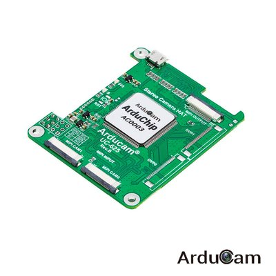 Arducam 5MP Synchronized Stereo Camera HAT for RPi