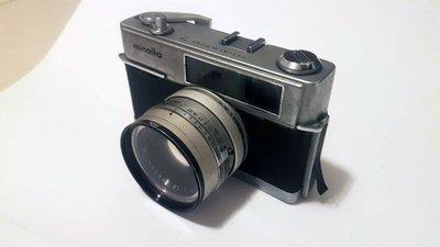 美能達 Minolta Hi-matic 7 底片機 光電池 RF 測距連動 疊影對焦 零件機 殺肉 東洋七劍 古董相機