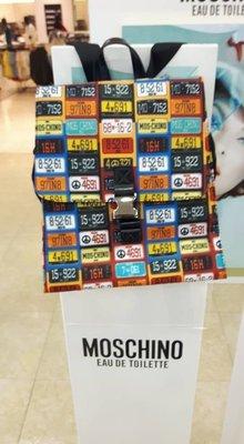 全新 Moschino 車牌後背包 1元直購+運費  love Moschino