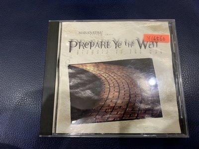 *還有唱片行*PREPARE YE THE WAY 二手 Y16560