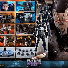Hot Toys 1/6 Marvel Future Fight Diecast The Punisher (War Machine Armor) 早期訂單