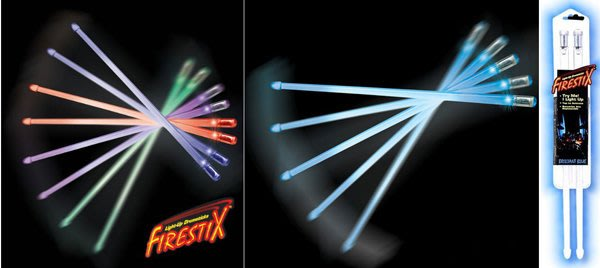 造韻樂器音響- JU-MUSIC - SparxStix LED 發光 爵士鼓 電子鼓 鼓棒 酷炫藍 Blue 超強光亮