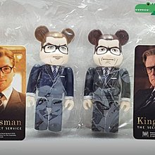 Medicom Bearbrick 36 Hero Kingsman Be@rbrick 100% 2款