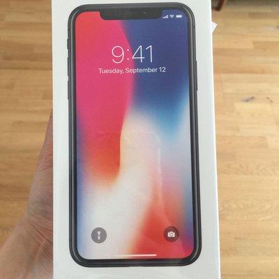 全新 行貨 IPhone X 256 G 太空灰 有單