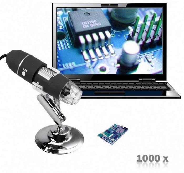 【玩具貓窩】高清1600倍USB電子顯微鏡 數位顯微鏡 電路板維修 測量 拍照