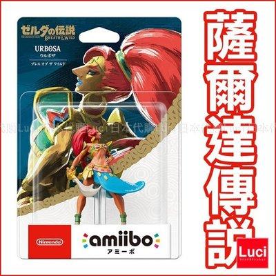 四英傑 烏魯波薩 任天堂 wii U 薩爾達傳說 召喚 amiibo 薩爾達曙光公主 Nintendo LUCI日本代購
