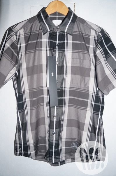 特價【NSS】uniform experiment 2013 BIG CHECK SHIRT 格紋 短袖襯衫 1 S